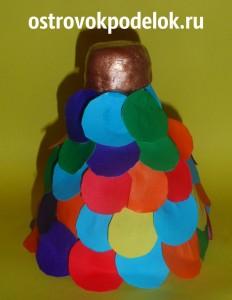 Замок из пластиковой бутылки