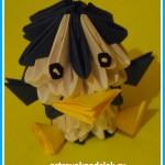«Пингвин» модульное оригами