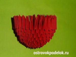 """""""Сердце"""" модульное оригами"""