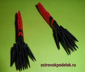 """""""Скорпион"""" в технике модульное оригами"""