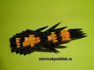 """""""Паук"""" в технике модульное оригами"""