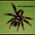 «Скорпион» в технике модульное оригами