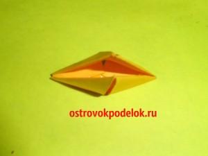 """""""ANGRY BIRD"""" в технике модульное оригами"""