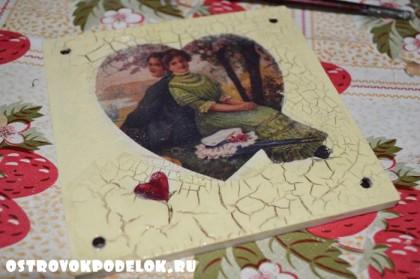 Мастер-класс: панно ко Дню святого Валентина