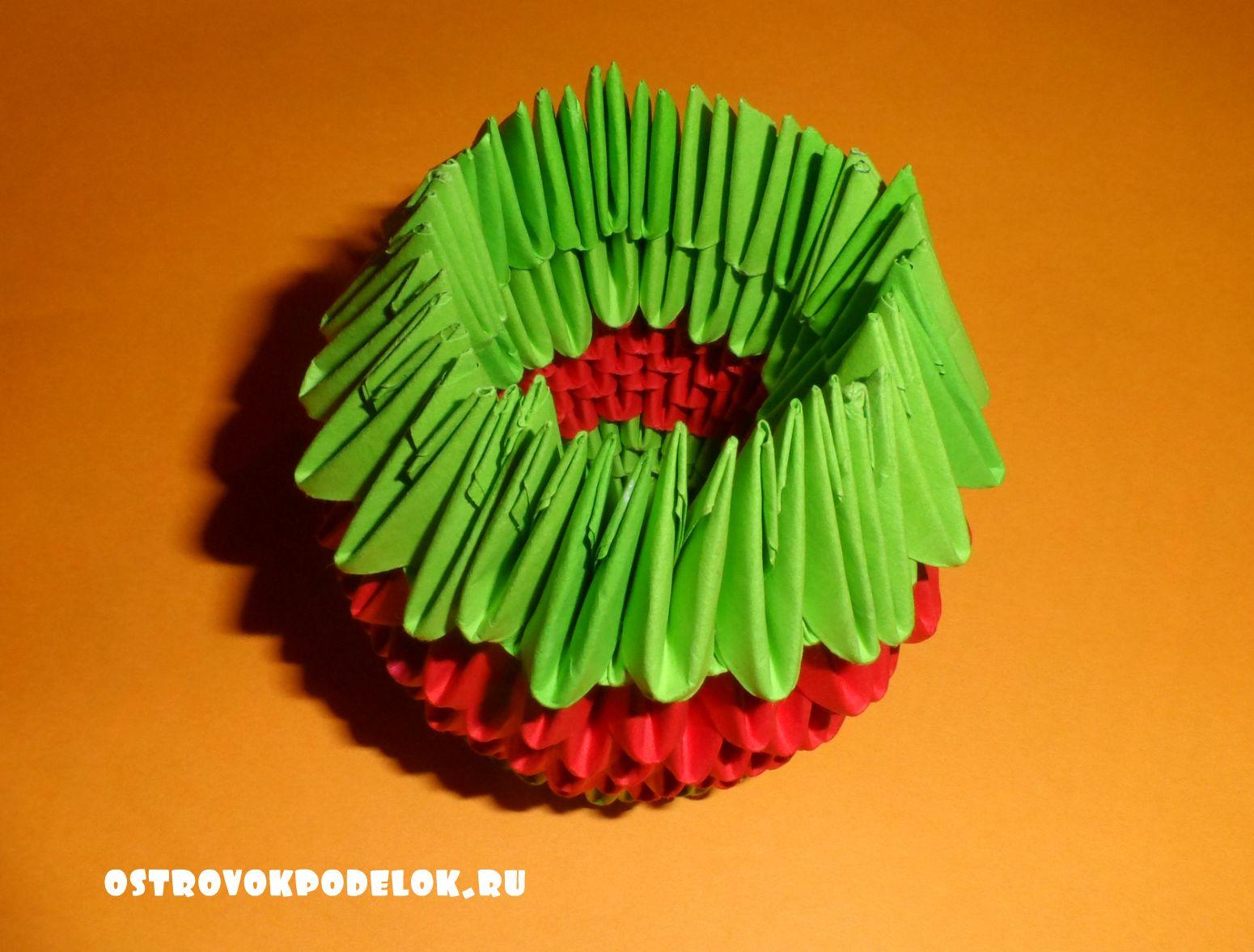 Модульное оригами бабочки схема сборки страна мастеров