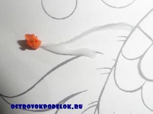 """картина в технике торцевание """"Подводный мир"""""""