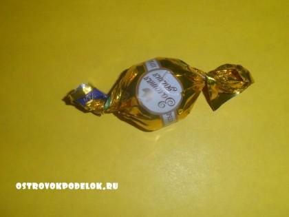 Штурвал из конфет