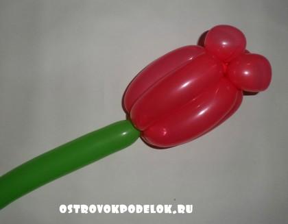 Мастер класс: Тюльпан из ШДМ