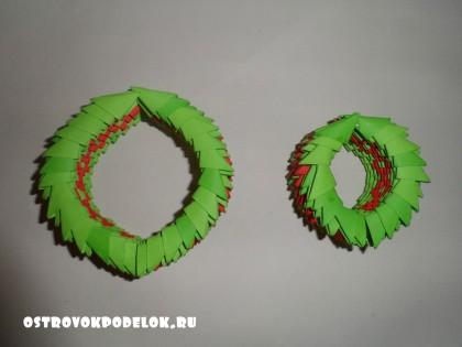 Модульное оригами « 8 марта»