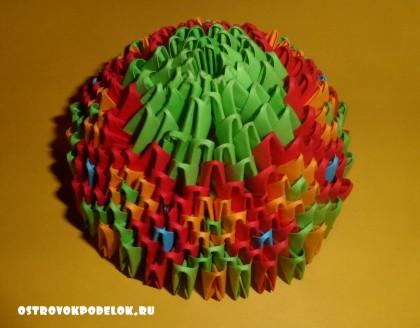 """"""" Пасхальное яйцо"""" модульное оригами"""