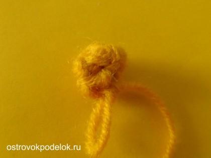 Пасхальная курочка ( вязание крючком)