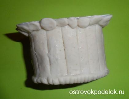 Пасхальные поделки из соленого теста