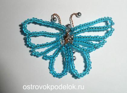 Мастер класс по плетению бабочек из бисера