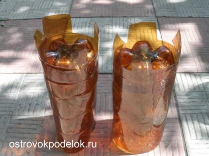 Замок из пластиковых бутылок