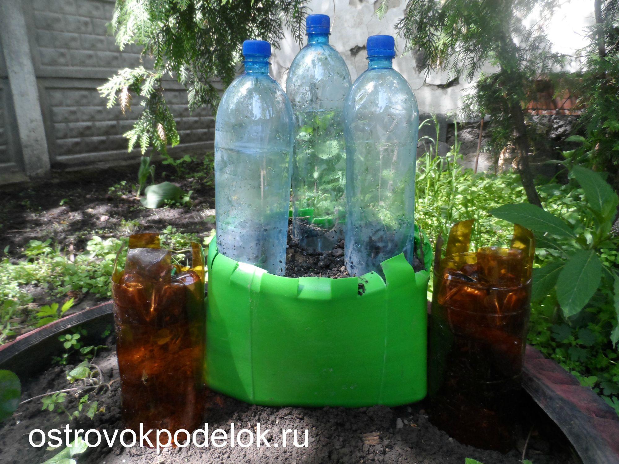 Поделки из пластиковых 5 литровой