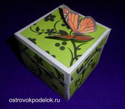 """Коробка с сюрпризом или """"как красиво подарить деньги"""""""