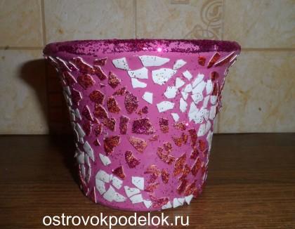 Декор горшков для цветов