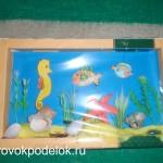 Конкурсная работа: аквариум из бумаги