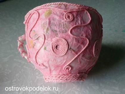 Конкурсная работа: Розовая чашка