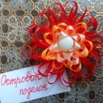 Конкурсная работа: Канзаши резинки своими руками