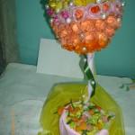 Конкурсная работа: топиарий » Розы и камни»