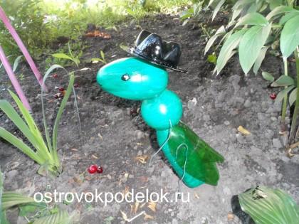 Садовая поделка «Кузнечик» ( мастер-класс)