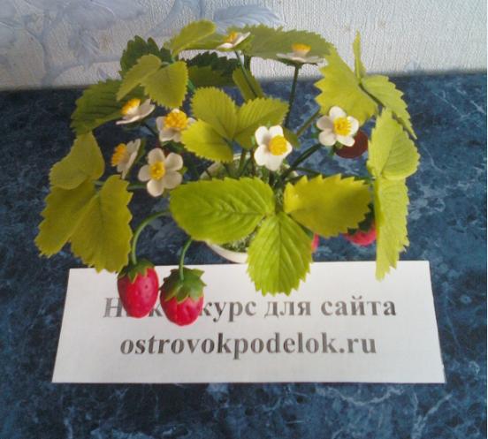 цветы, горшок и стрекозы.