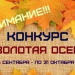 Работы участников конкурса «Золотая осень»