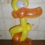 Фигурка из шаров «Уточка»