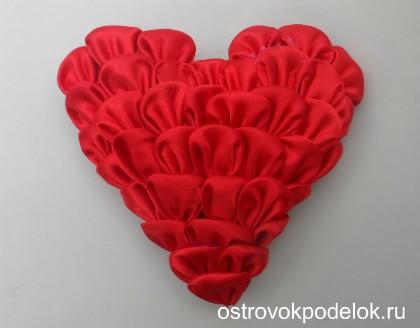 Сердце канзаши