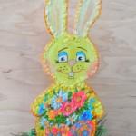 Пасхальный заяц из фанеры