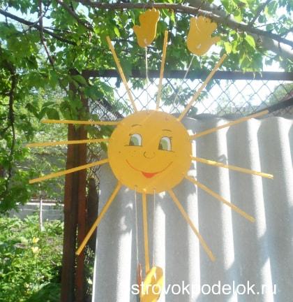 Солнце из фанеры