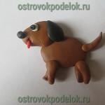 Собака из пластилина — как ее слепить?